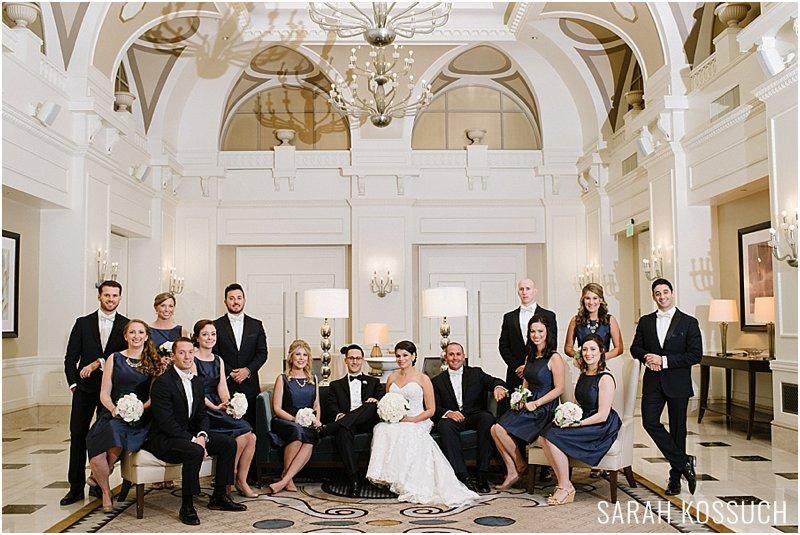 The Westin Book Cadillac Wedding Detroit Photographer